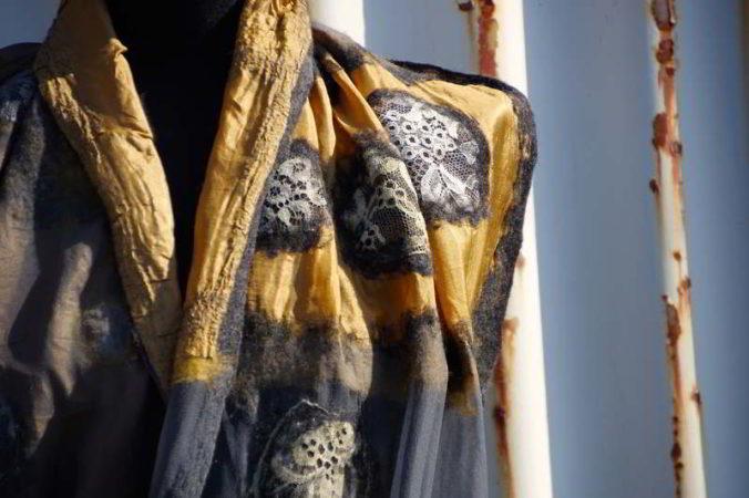 Schal Detail