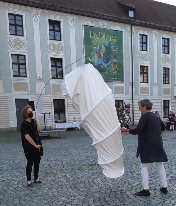 Raupe Ausstellung Schwäbisch Gmünd